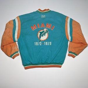 Rare 90s Mirage Miami Dolphins XL Jacket